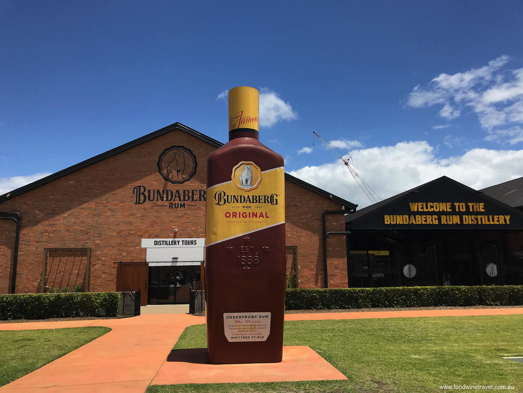 Bundaberg Rum distillery tours Queensland