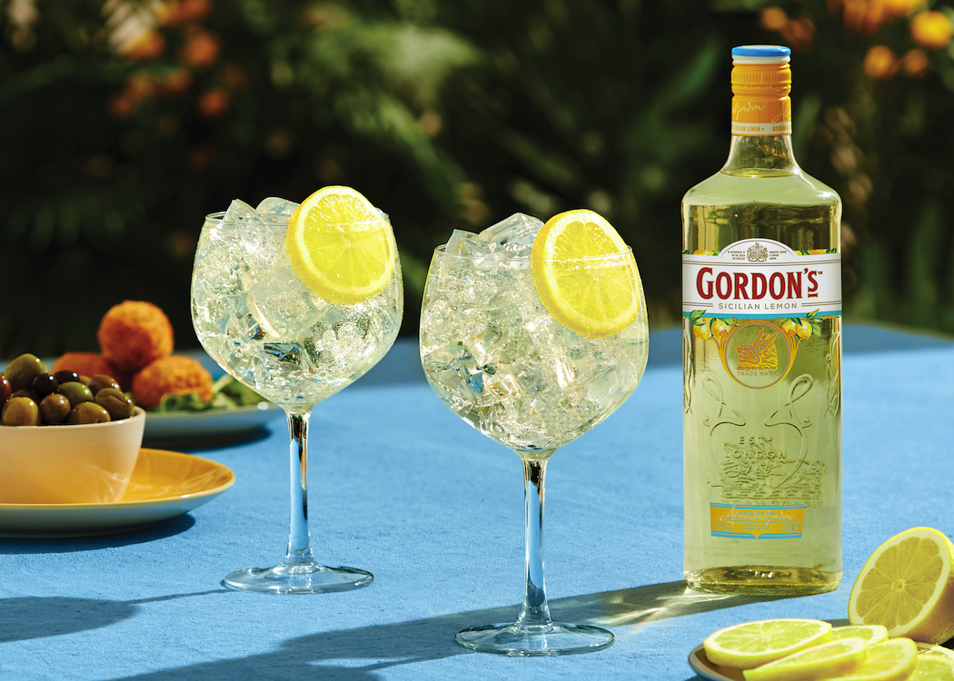 Dad can picture himself in Italy with Gordon's Sicilian Lemon Distilled Gin.