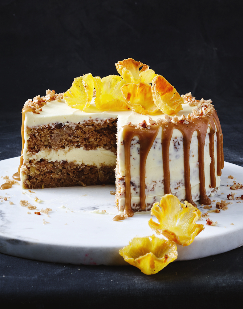 Baking a cake in the slow cooker. This delicious recipe for Hummingbird Cake is from Taste Top 100: The Ultimate Slow Cooker.