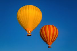 Hot air balloon flight, Scenic Rim Queensland