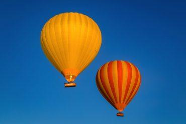 Hot air balloon flight, Scenic Rim Queensland