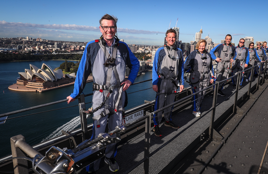 Sydney's BridgeClimb has introduced the Ultimate Climb, just in time for Father's Day.