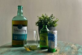 The Plus Two formula mixes The Singleton with a still mixer and a sparkling mixer for a deliciously easy cocktail.