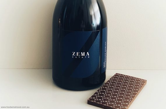 Zema Estate Sparkling Merlot and chocolate: a perfect match
