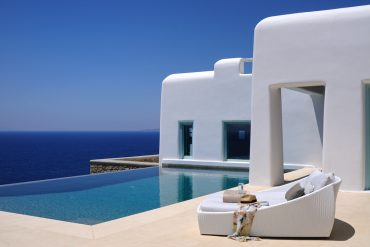 The Blue Villas Collection has 350 stunning properties like this one, located throughout Greece and its islands.