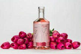 Underground Spirits' Floriade reimaGINed limited edition pink gin