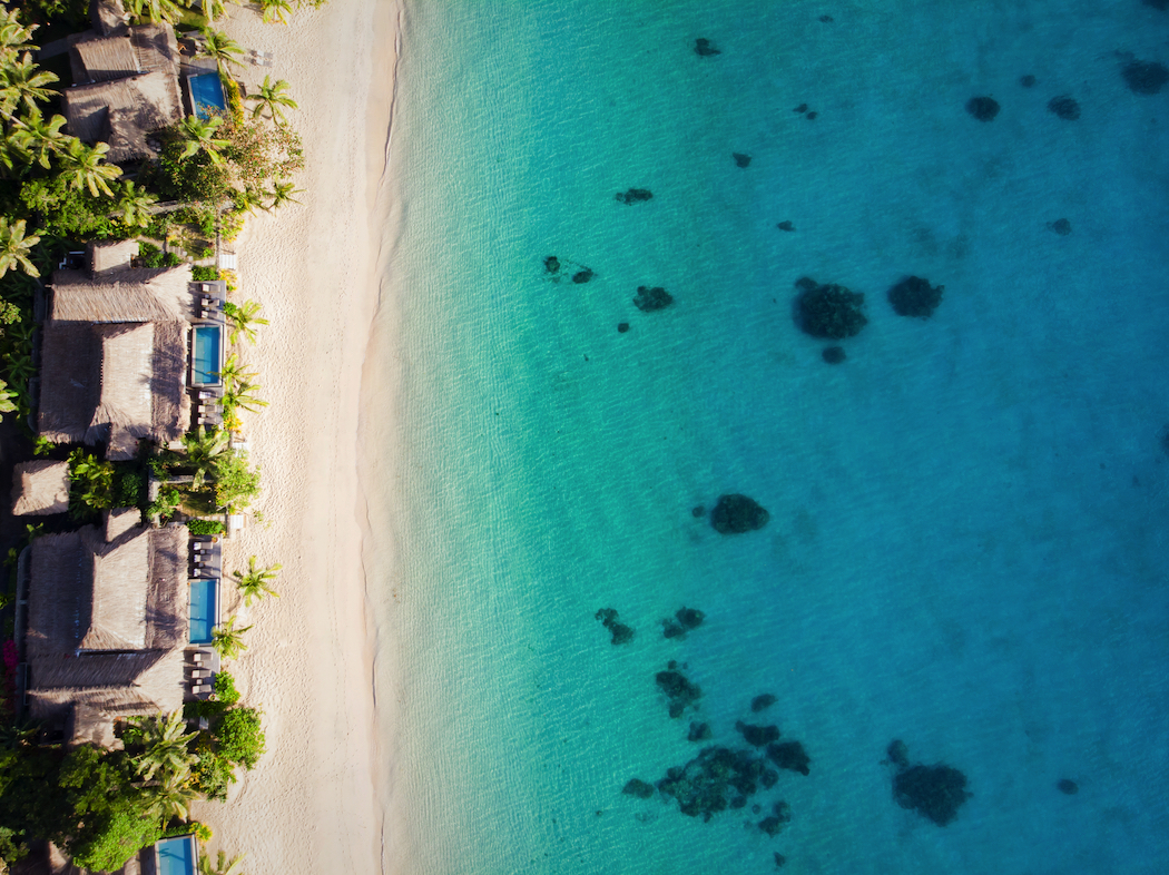 Rent out the whole island for a luxury experience at Kokomo Private Island, Fiji.