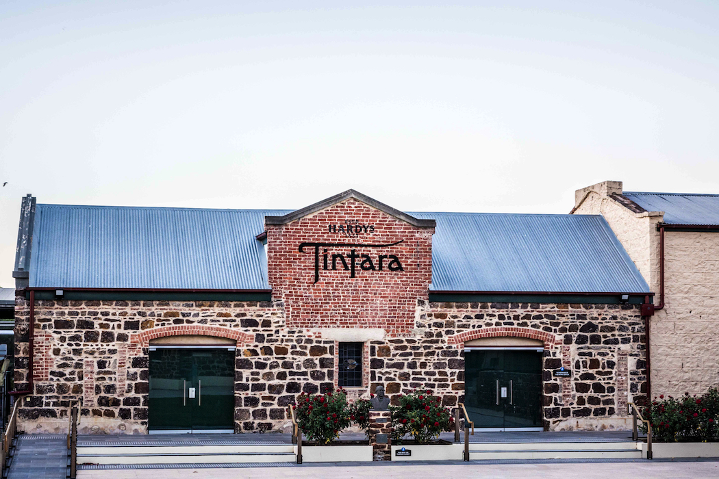 The Tintara winery in McLaren Vale speaks of a winemaking history dating back to the 1850s.