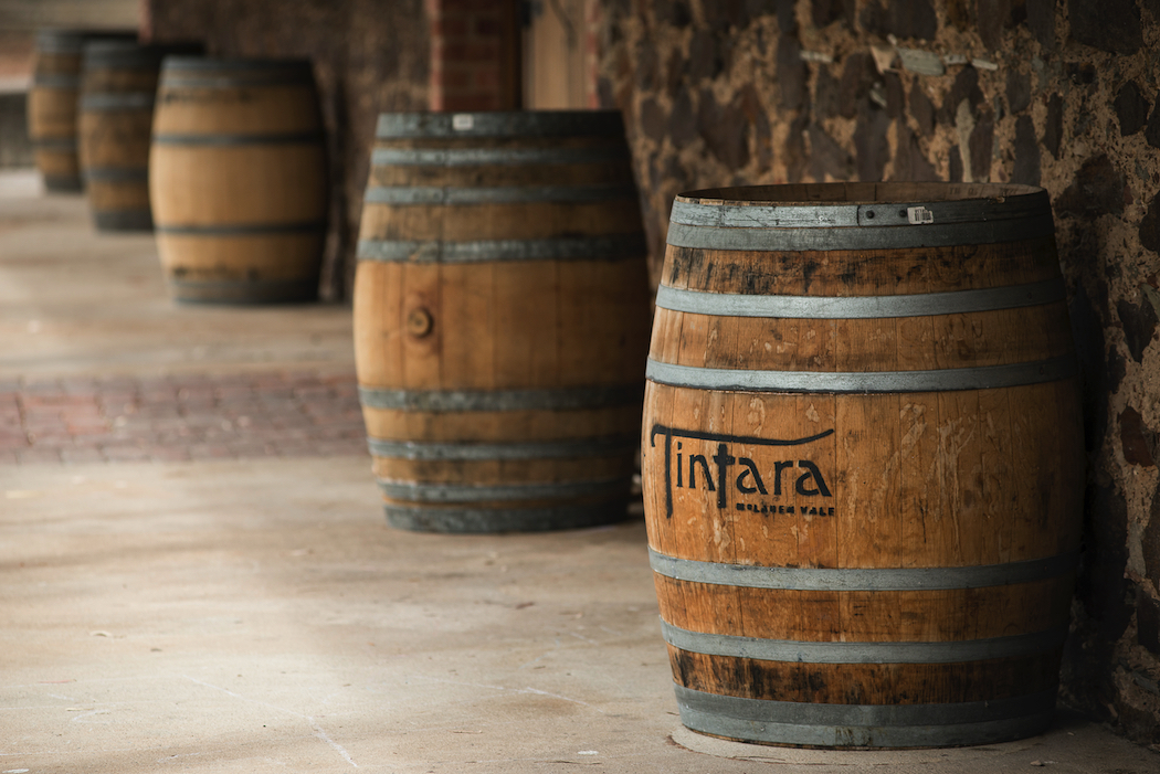 Tintara winery is a meeting of the old and the new.