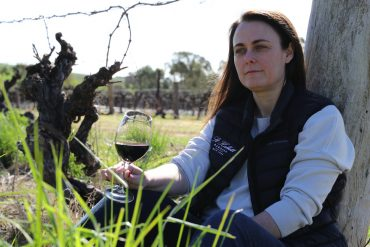 St Hallett senior winemaker Helen McCarthy: has a passion for Barossa, but particularly for Eden Valley.