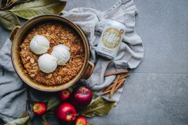 Zeffer Apple Crumble Infused Cider and a recipe for Apple Crumble