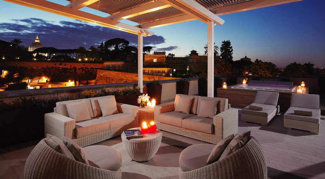 Villa Agrippina Gran Meliá is an urban sanctuary in the heart of Rome.