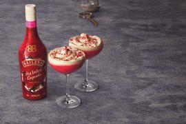 Baileys Red Velvet Cupcake: indulgent and festive.