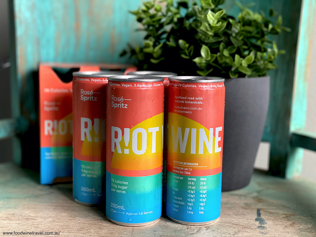 Riot Wine Co Rose Spritz in a can