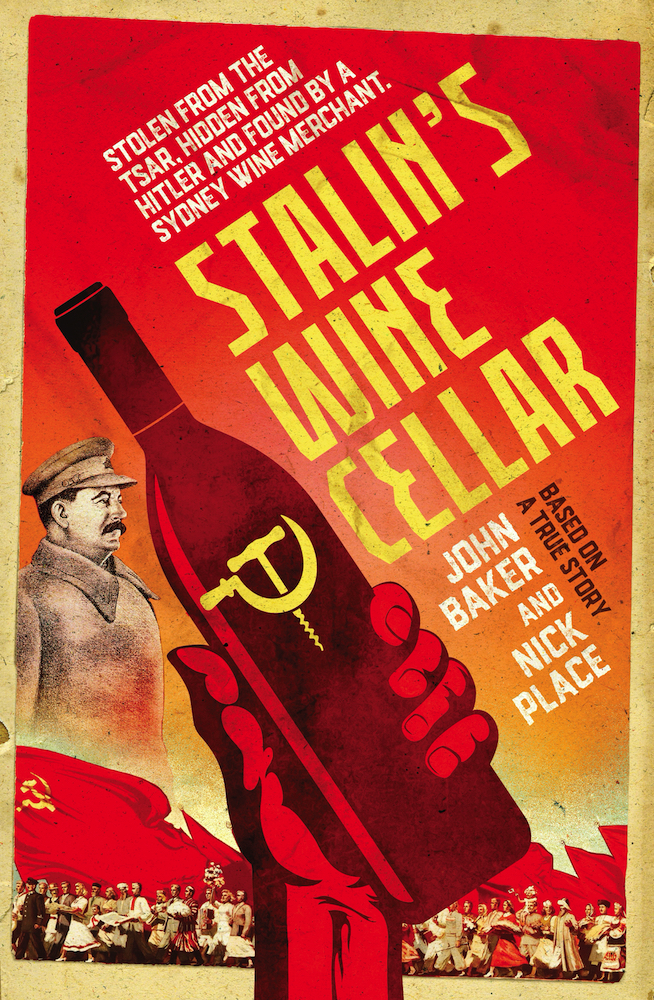 Stalin's Wine Cellar : a book for wine buffs and those who are intrigued by quirky bits of history.