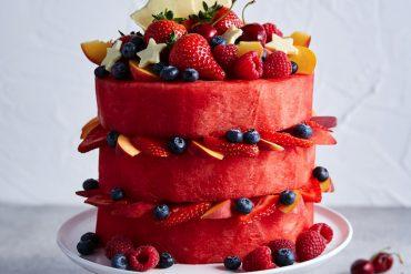 Recipe for Watermelon Cake
