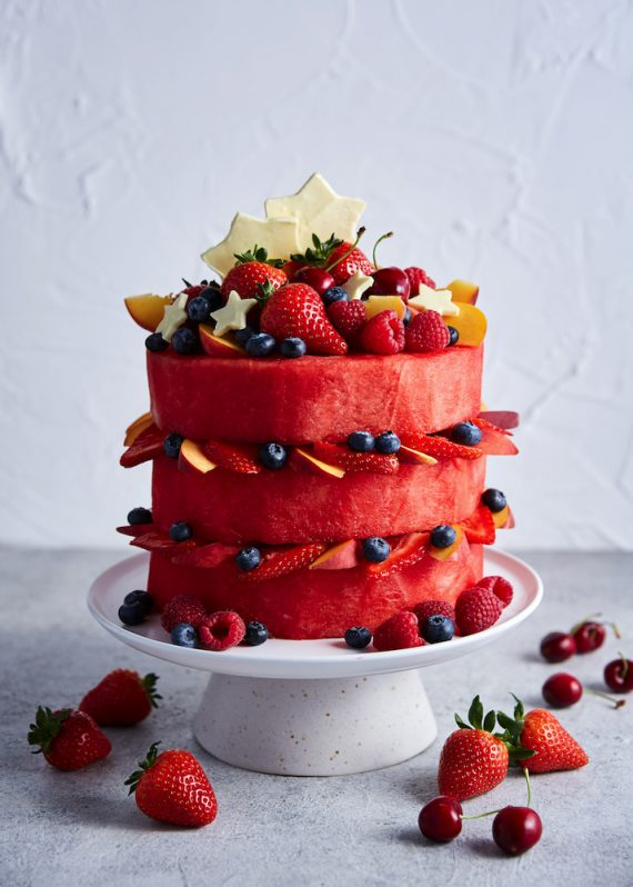 Recipe for Watermelon Cake