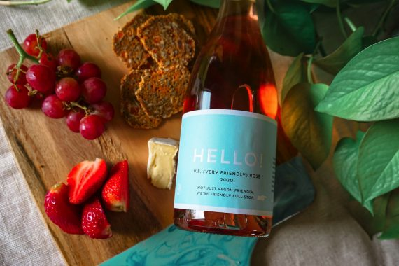 Hello Vegan Friendly Rose