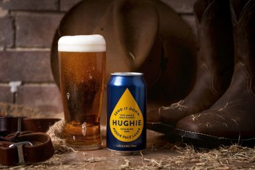 Send It Down Hughie Pale Lager Beer