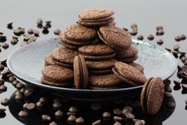 Kirsten Tibballs' chocolate cookie recipe was her most popular recipe during lockdown.