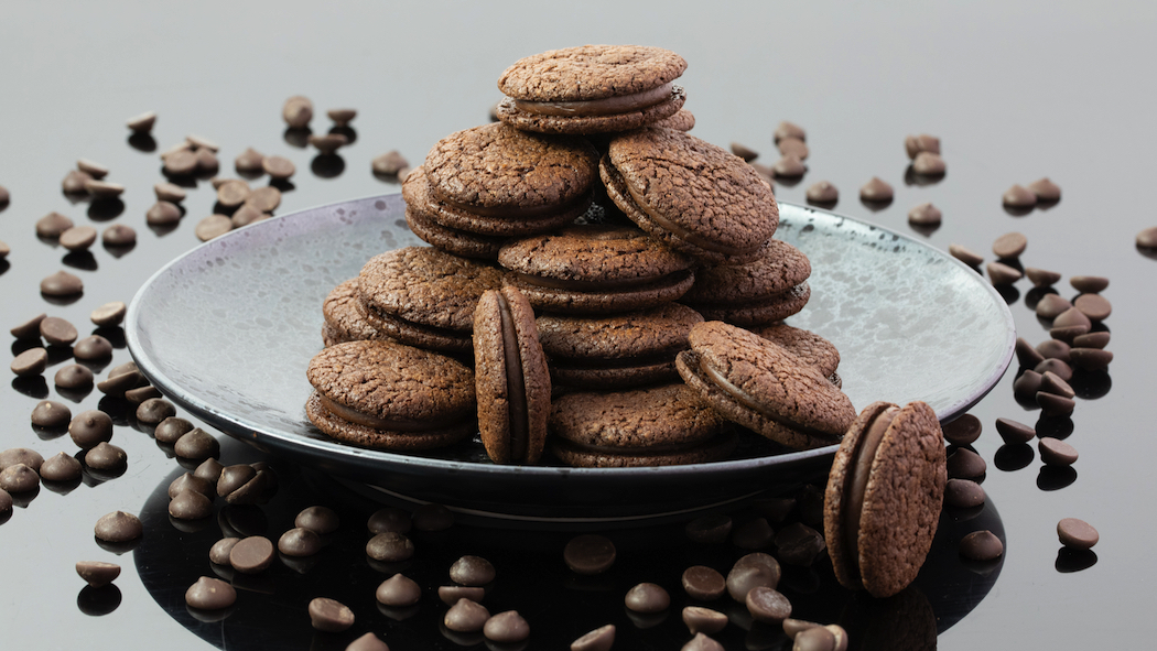 Kirsten Tibballs' chocolate cookie recipe was her most popular recipe during lockdown.