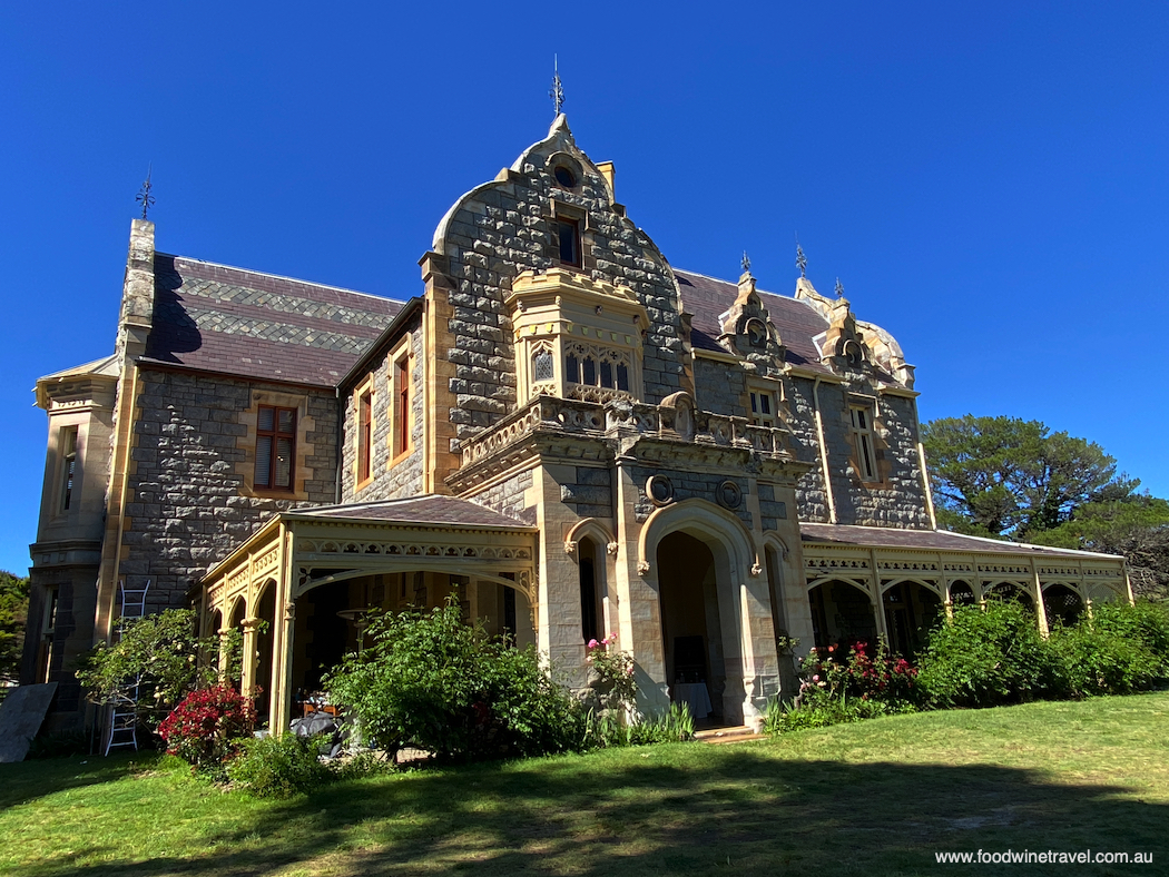 Abercrombie House, in Bathurst, built in the 1870s by the Stewart family.