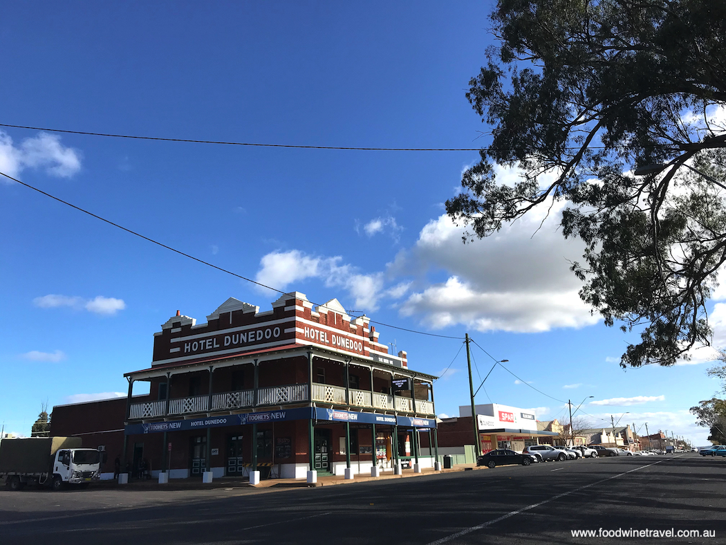 Hotel Dunedoo, a classic country pub.