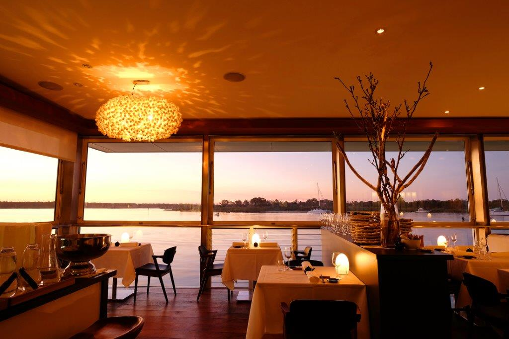 Winston is in the beautiful space on the Noosa River where Wasabi used to be.