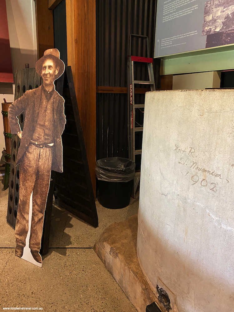 The cut-out image of Audrey Wilkinson, who left a remarkable  legacy.