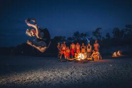 Dawn Awakening 2017 at Stummer Creek, Coolum Beach. Photo: Ben Vos Productions.