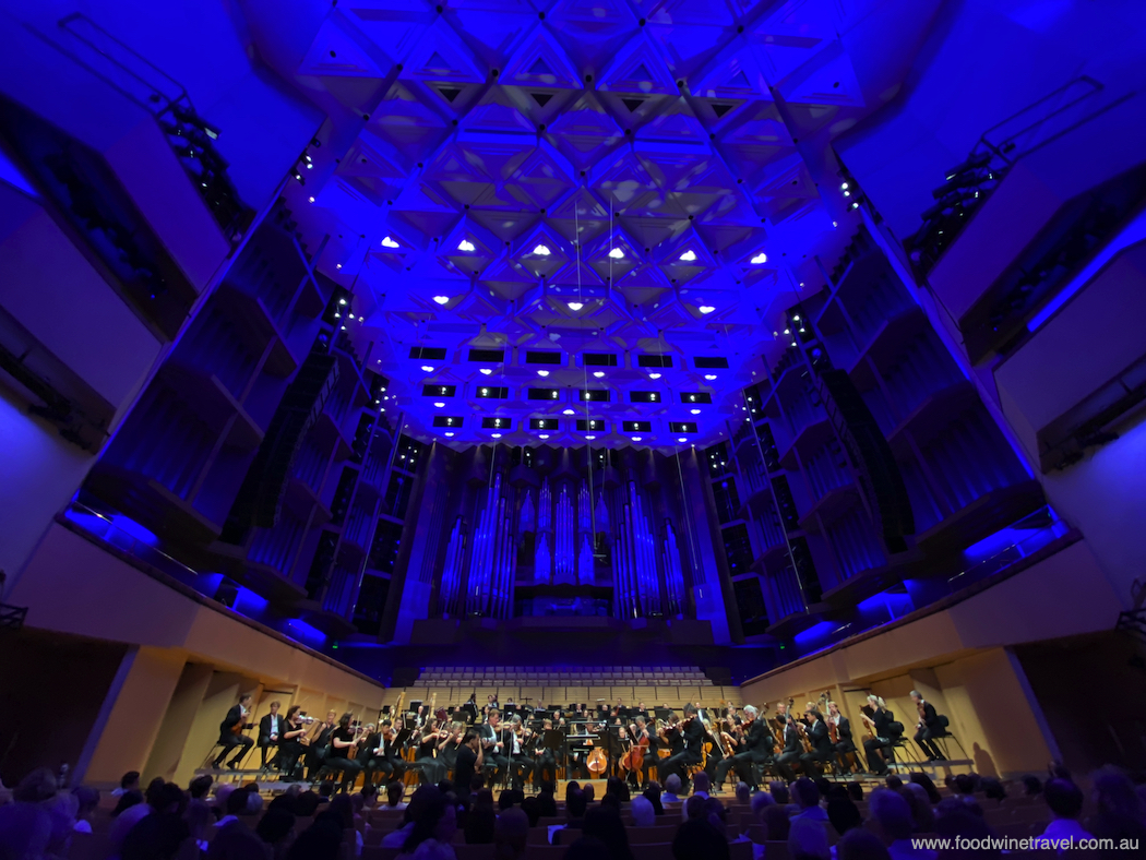 QPAC Concert Hall, at the start of last week's Arabian Nights concert.