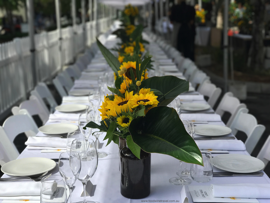 Look forward to restaurant events, beach events, long lunches and festival pop-ups.