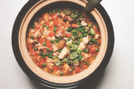 This recipe for rich, spicy Mapo Tofu is from Hetty McKinnon's book, To Asia With Love.
