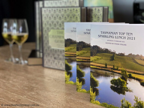 Tasmania's success was the inspiration for a superb Sparkling Wine Lunch.