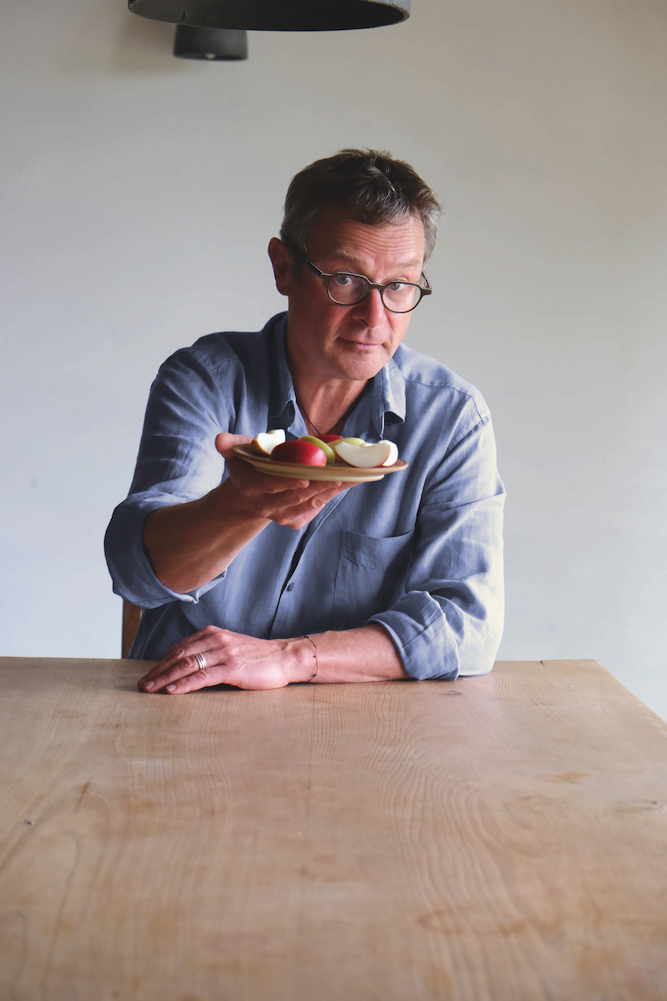 Hugh Fearnley-Whittingstall: an uncompromising  commitment to seasonal, ethically produced food.