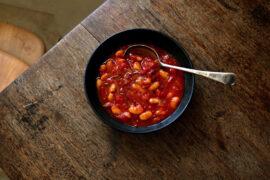 Hugh Fearnley-Whittingstall's Storecupboard Soup, from Eat Better Forever.