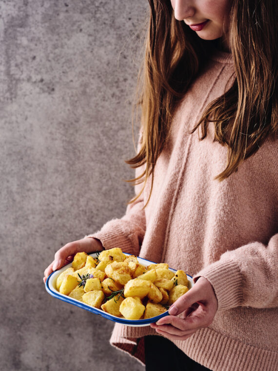 How to make the best roast potatoes in an air fryer: check out this recipe from Air Fryer Express.