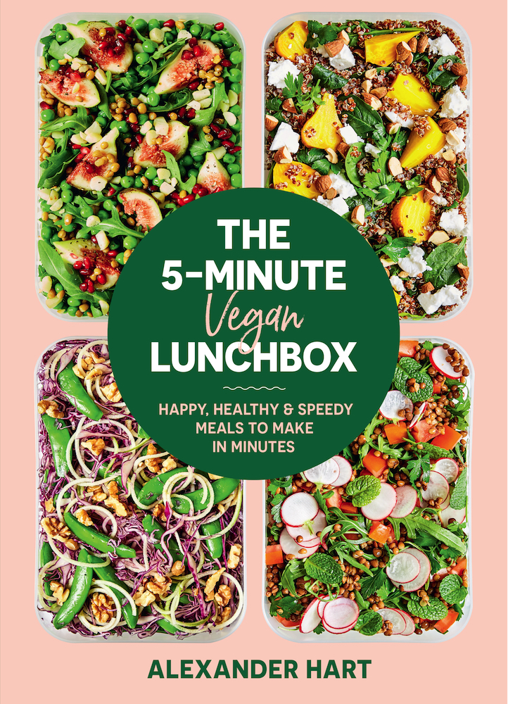 Make these stunning vegan lunchbox dishes in just 5 minutes.