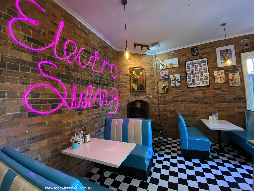 Ungermann Brothers' icecream parlour has a retro vibe and a huge range of flavours.