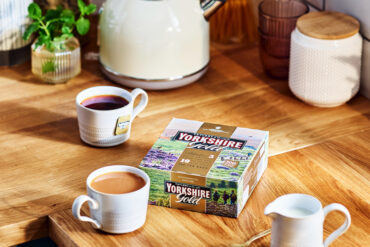 Enjoy a cuppa on International Tea Day. Yorkshire Gold is a rich, smooth tea.