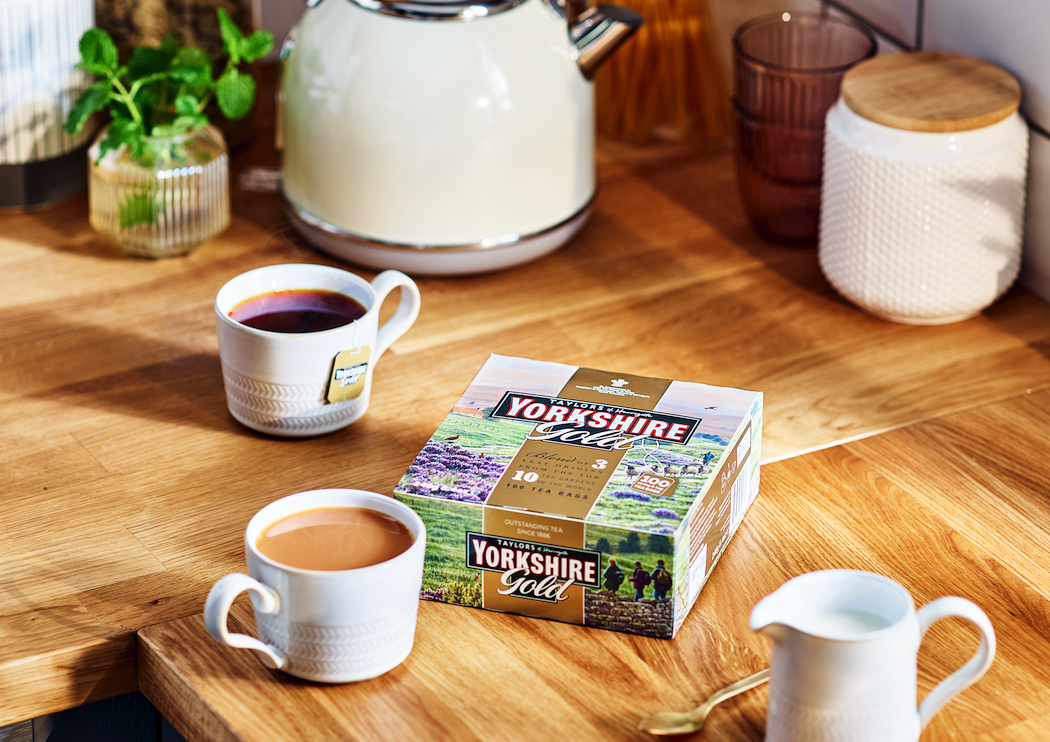 Yorkshire Gold is a rich, smooth tea.