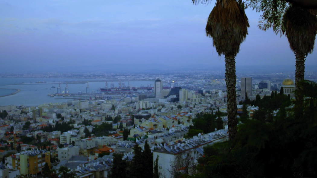 The multicultural city of Haifa, Israel, where the A-Sham Arabic Food Festival is held.