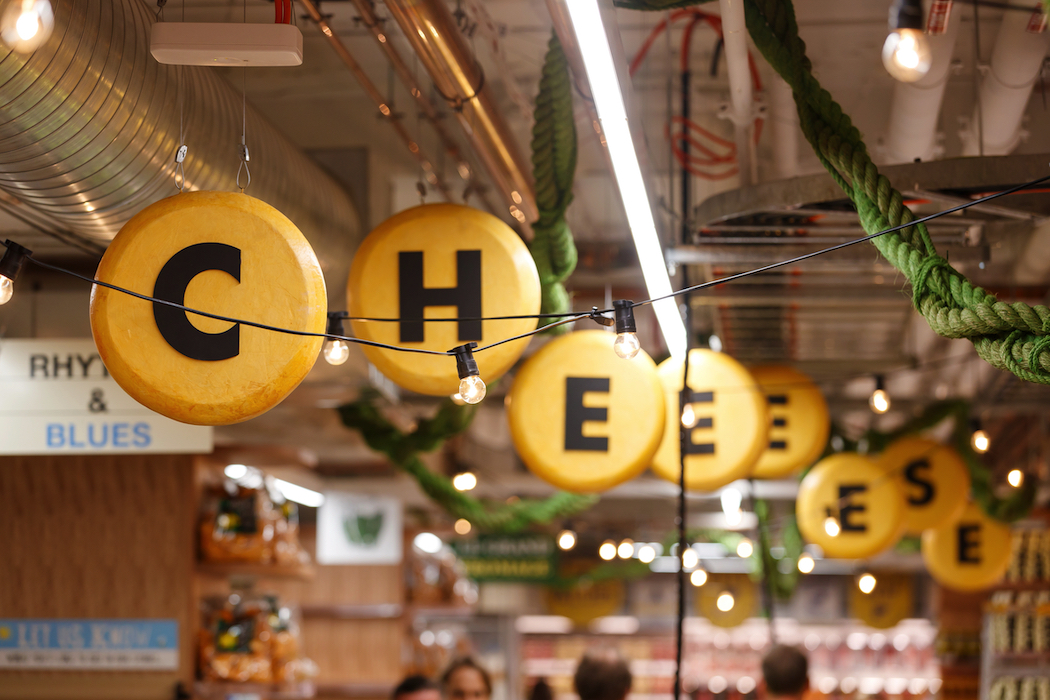 The Cheese Lane in Harris Farm Markets' West End store.