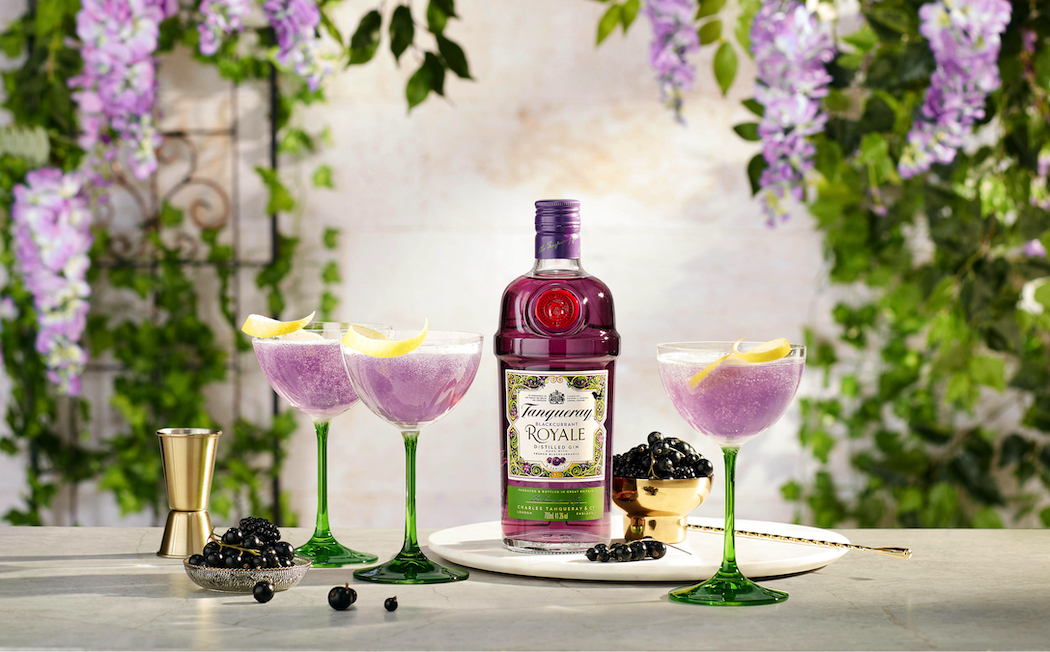 Enjoy this cocktail recipe made from Tanqueray Blackcurrant Royale Gin.
