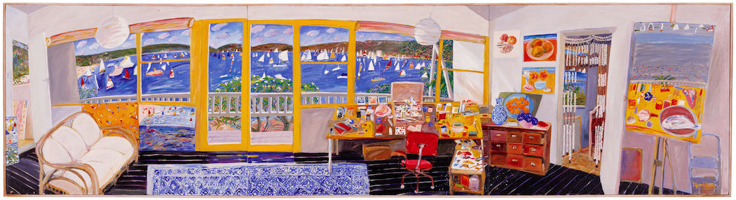 The Cabin studio, 1980 image courtesy The Ken Done Gallery. His work will be on show at Ngununggula next year.