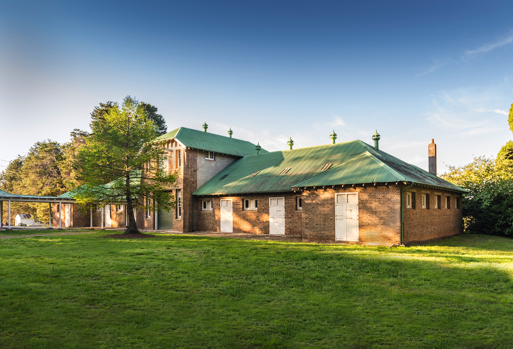 The Old Dairy, Retford Park, soon to be Ngununggula, Southern Highlands Regional Gallery. Photo by Ashley Mackevicius.
