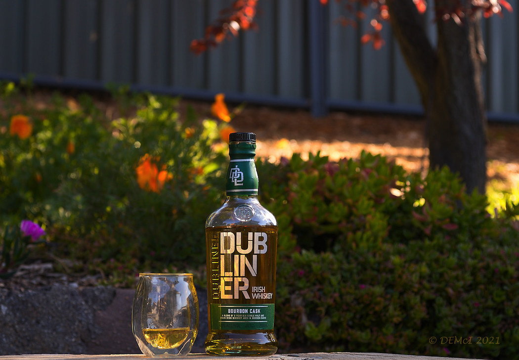 The Dubliner has been relaunched in Australia with a new look and bottle design. Photo by David McIlroy.