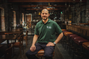 James Di Giulio went to Ireland with a passion for whiskey and is now one of six distillers behind the Dubliner Whiskey brand.