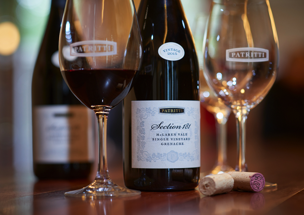 Patritti Section 181 Single Vineyard Grenache is made by the last remaining family-owned winery in suburban Adelaide.