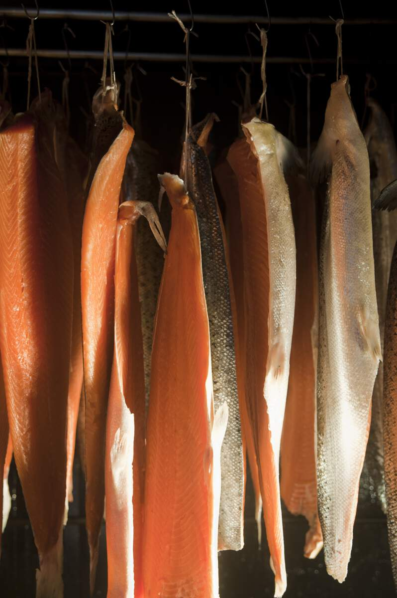 Fun facts you might not know about Irish food. Frank Hederman has spent decades perfecting smoked salmon at Belvelly Smokehouse. © Tourism Ireland